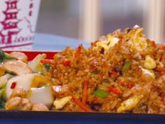 Pork Fried Rice recipe from Robin Miller via Food Network