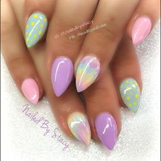 Nail art ideas for spring 2015.