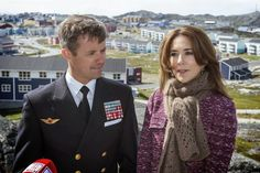 Danish Crown Princely Family visit Nuuk, Greenland, August 8, 2014-Crown Prince Frederik and Crown Princess Mary