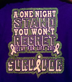 Relay for life, I love this !1
