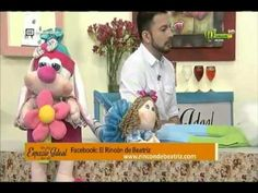 Espazio Ideal Corona infantil en paño lency 17 de marzo 2016 Telecafé - YouTube