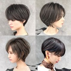 Smooth Subtle Fade - 30 Short Ombre Hair Options for Your Cropped Locks in 2019 - The Trending Hairstyle Short Cropped Hair, Short Straight Hair, Undercut Hairstyles, Short Bob Hairstyles, Crop Hair, Girls Short Haircuts, Short Hair Cuts Girls, Asian Short Hair, Short Hair Styles For Round Faces
