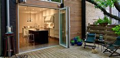 Gallery | Residential Folding, Swing & Multi-Slide Doors | LaCantina Doors