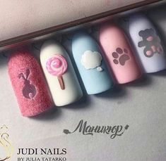80 Awesome Acrylic Almond Nails Designs - We are not ready to live a dull day, we favor a colorful life, in order to match stunning, vivid ap - Nail Manicure, Gel Nails, Acrylic Nails, Almond Nails Designs, Nail Designs, Love Nails, Pretty Nails, Gorgeous Nails, Baby Nails