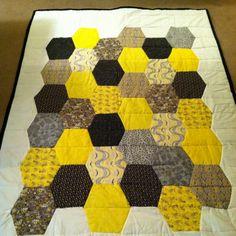 My honeycomb quilt!