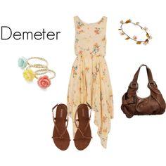 Demeter from Greek Mythology.