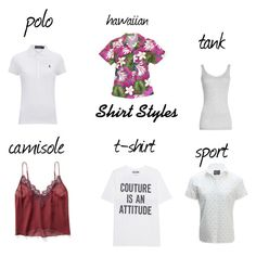 """""""shirt styles"""" by sandrarodriguez2 ❤ liked on Polyvore featuring Polo Ralph Lauren, Vince, Free People, Moschino and United by Blue"""