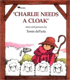 Journey to Excellence: Charlie Needs a Cloak ~ Tomie de Paola {Virtual Book Club for Kids} Price Sticker, Children's Literature, Library Books, Reading Library, Free Library, Reading Time, Book Club Books, Kid Books, Book Art