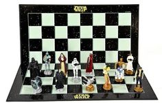 """Star Wars Classic 3D Chess Set / Game (Size 17"""" x 17"""")"""