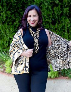 Over 40 Fashion: Chico's Goes Wild With Animal Prints This Season #fashionover50 #ad