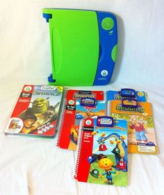 Leap Frog LEAP PAD Learning System Lot (6) Books/Cartridges ~ $38.50