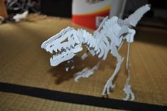 Velociraptor 3D puzzle, Dino by hoctopusse.