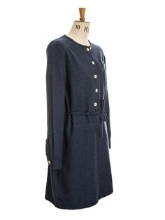 lillia dress, tudor navy | oliver spencer.