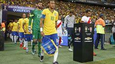 Neymar captained Brazil to victory against Peru / Rafael Ribeiro - CBF
