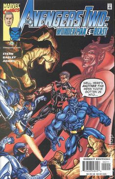 Avengers Two Wonder Man and the Beast (2000) 2