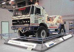 DAF Turbo Twin II Show 4x4 Trucks, Cool Trucks, Rallye Paris Dakar, Rally Raid, All Truck, Twin Turbo, Courses, Raiders, Tractors