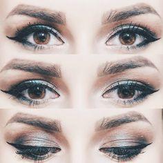 "147 Likes, 2 Comments - ∆ Casandra ∆ (@casandrasy) on Instagram: ""#makeup #eyes #style #beauty #beautiful #duochromatic #color #eyeliner #eyeshadow"""