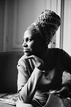 S/A Legend Singer Miriam Makeba wears Xhosa Hat