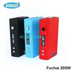 Authentic Sigelei 200W FuChai 200W TC Box http://www.dhgate.com/store/product/authentic-sigelei-150w-tc-sigelei-150watt/243712192.html