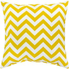 @Overstock - Add a touch of contemporary style and comfort to your outdoor furnishings with these accent pillows. These pillows are overstuffed with a soft 100-percent polyester fill and have a durable weather resistant and UV protected cover.http://www.overstock.com/Home-Garden/Zags-Yellow-Outdoor-Accent-Pillows-Set-of-Two/6585213/product.html?CID=214117 USD              39.48