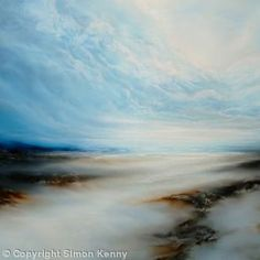 Abstract painting art gallery by artist Simon Kenny