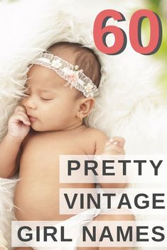 Are you looking for an elegant old fashioned name for your little girl? This list of beautiful vintage names will help you find a lovely old school name for your new daughter. #babynames #girlnames #vintagenames #pregnant #names Pretty Girls Names, Vintage Baby Names, Baby Girl Names Unique, Cute Baby Names, Little Girl Names, Most Beautiful Girl Names, Two Syllable Girl Names, Old Fashion Girl Names, Traditional Girl Names