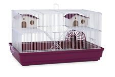 Deluxe Hamster Gerbil Mouse Cage Habitat Play Hide Climb Platform Houses Wheel