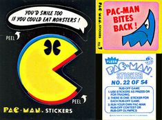 PAC-MAN Stickers from epromos.com