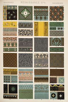 Jones, Owen, 1809-1874. / The grammar of ornament (1910). Renaissance nr. 4