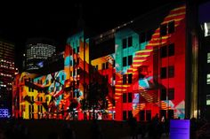 Vivid Sydney's Dazzling Light Installations