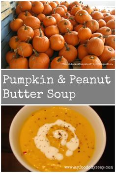Quick & easy pumpkin & peanut butter soup. The peanut butter adds a creamy texture and delicious flavour. Perfect for these cold winter evenings.