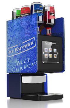 LayerNation El Tirador Shot Dispenser. #drinks #alcohol #booze #parties #shots