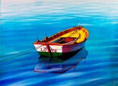 The Love Boat, Orlando Quevedo Oil Pen, Best Amazon Deals, Chip Art, Boat Art, Love Boat, Georges Braque, Artist Bio, Draw On Photos, International Artist