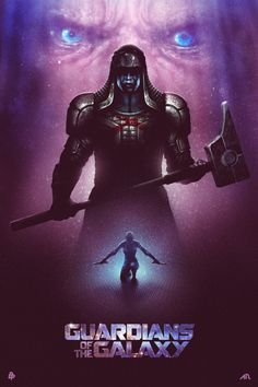 Guardians of the Galaxy by Adam Rabalais for Poster Posse Project #9