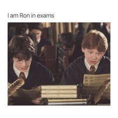 I wish I went to Hogwarts. I wonder what's happening at Hogwarts now.probably actual education, since Harry doesn't go there anymore. Harry Potter Tumblr, Harry Potter Jokes, Harry Potter Fandom, Harry Potter Ron Weasley, Funny Relatable Memes, Funny Jokes, Hilarious, Hogwarts, Lord Voldemort