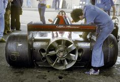 1978 Swedish Grand Prix at Anderstorp Nicky Lauda his Brabham BT46B