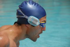 Butterfleye | Swimming Goggles - Track your heart rate as you swim. #Quantified #Wearables #Health