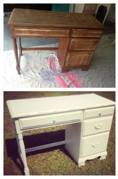 Before and after #fb #distressedwithlovebyc.a #furniture #diy