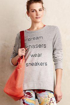 Go-Getter Sweatshirt #anthropologie #anthrofave