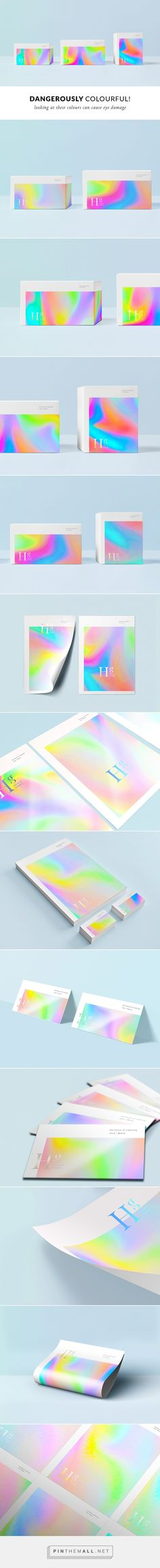 Holographic feeling without metallic effect Gfx Design, Layout Design, Print Design, Brand Packaging, Packaging Design, Saloon, Bussiness Card, Banners, Identity Design