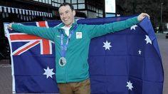 Living the dream: David Morris, winner of Australia's first Olympic medal in men's aerial skiing.