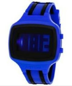 a42e7e9f71614 Activa Digital Blue   Black Plastic ACTIVA-AA400-003 Watch gifters.com  digital watches for men