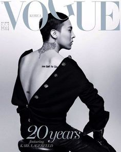 G-Dragon teases for upcoming 'Vogue Korea' 20th anniversary covers shot by Karl Lagerfeld | Koogle TV