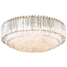 Venini Murano Glass Chandelier   From a unique collection of antique and modern chandeliers and pendants  at https://www.1stdibs.com/furniture/lighting/chandeliers-pendant-lights/