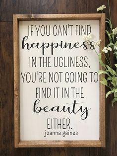 So very true. Joanna Gaines Decor - Fixer Upper Decor - Fixer Upper Style Sign - Farmhouse Decor - Farmhouse Sign - Motivational Decor - Inspirational Wall Art, Farmhouse style, Rustic decor, wood sign, Home decor, Gift idea #ad