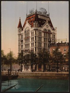 Witte Huis, Rotterdam, South Holland, the Netherlands, ca. Places To Travel, Places To Go, Travel Local, La Haye, South Holland, Old Pictures, Barcelona Cathedral, Belgium, Dutch
