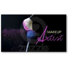 38 Best Makeup Business Card Inspirations Images Business Cards