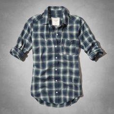 Womens Ella Plaid Shirt