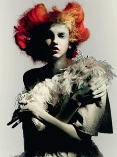 Molly Blair by Paolo Roversi for Vogue Italia March 2015 [Couture]