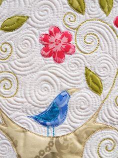 Sampaguita Quilts: close up, Bogong Bower